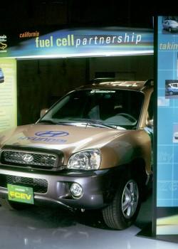 California Fuel Cell Partnership portable exhibit