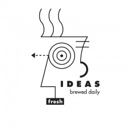 """Wiley Design """"Fresh Ideas Brewed Daily"""" promo graphic"""