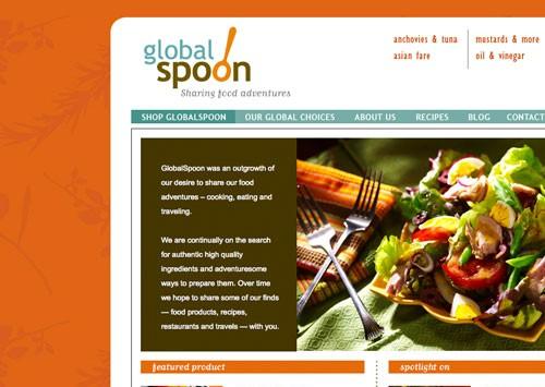 GLOBALSPOON <br /> website