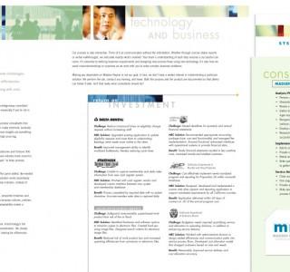 Madsen Rayner sales folder and brochure