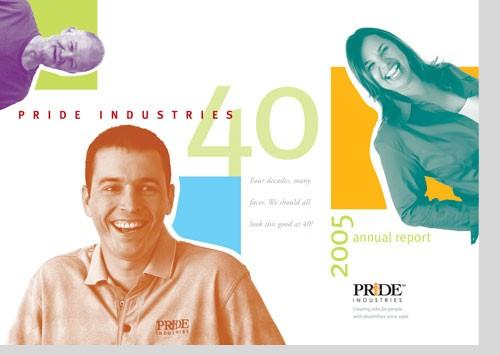 PRIDE INDUSTRIES <br /> 40th anniversary report