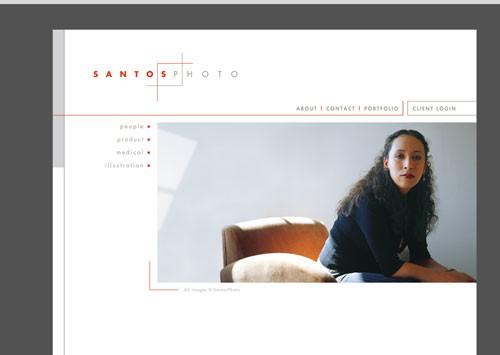 SANTOSPHOTO <br /> website
