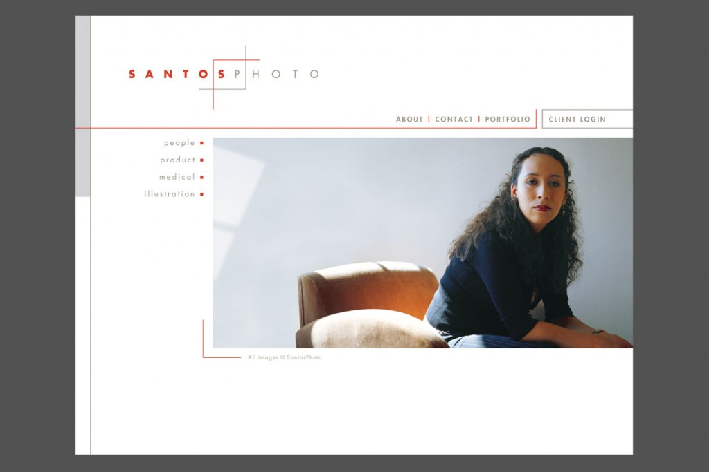 SantosPhoto website